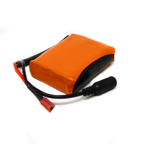 Orange 18650 Li-ion 2500mAh 11.1v 3S1P Protected Battery Pack-3c