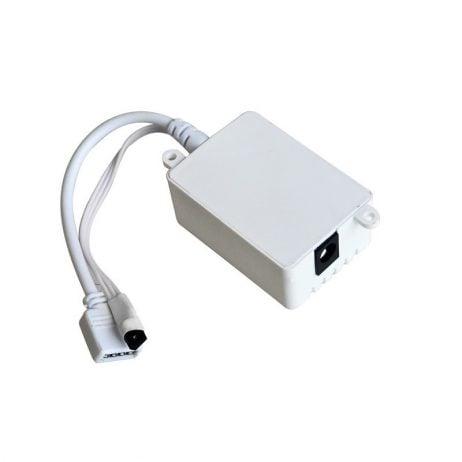 12V 5050 RGB LED Strip Controller box with 24 Key IR Remote Control