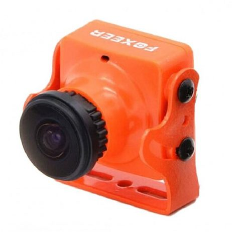 Foxeer HS1190 Arrow 2.8mm 600TVL CCD OSD NTSC/PAL IR Block/IR Sensitive FPV Camera w/ Bracket