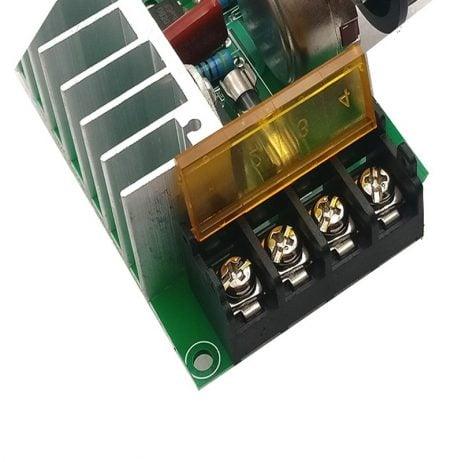 4000W High-Power Thyristor Electronic Regulator, Dimming Speed Regulation