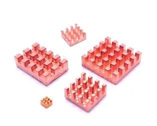 5 in 1 Pure Copper Heat Sink for Raspberry 4B
