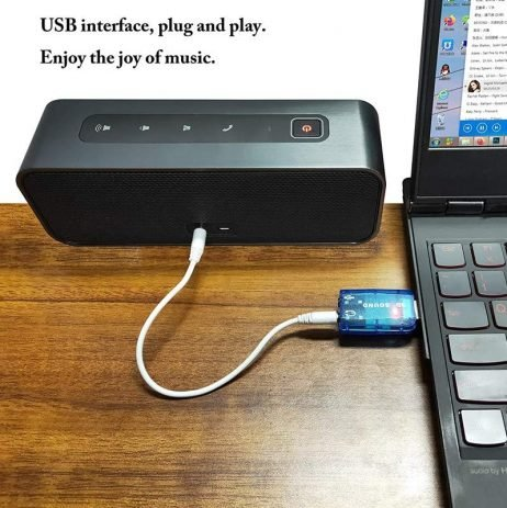 5.1 channel USB Sound Card for Raspberry Pi