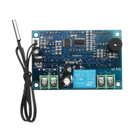 DC12V Thermostat Intelligent Digital Thermostat Temperature Controller With NTC Sensor XH-W1401 Led Display