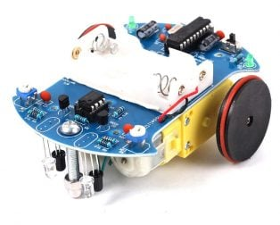 DIY D2-2 Intelligent Line followerTracking Smart Car Kit
