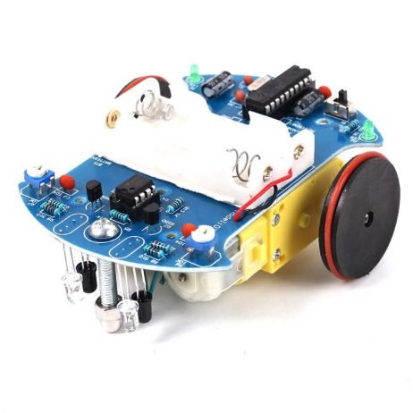 DIY D2-2 Intelligent Line followerTracking Smart Car Kit