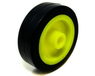 EasyMech Heavy Duty(HD) Disc Wheel 100x32mm – 1Pcs. (Yellow Color)