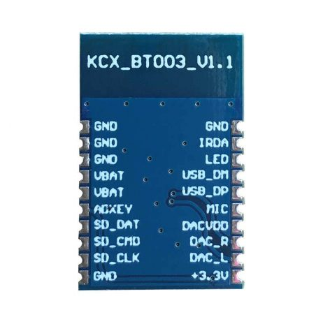 KCX BT003 4.2 Bluetooth Module MP3 WMA WAV FLAC Receiver