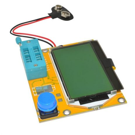 LCR-T4 12864 LCD Graphical Transistor Tester Resistance Capacitance ESR SCR Meter