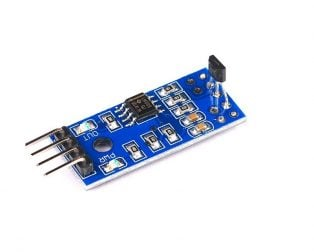 LM393 Linear Hall Effect Sensor Module