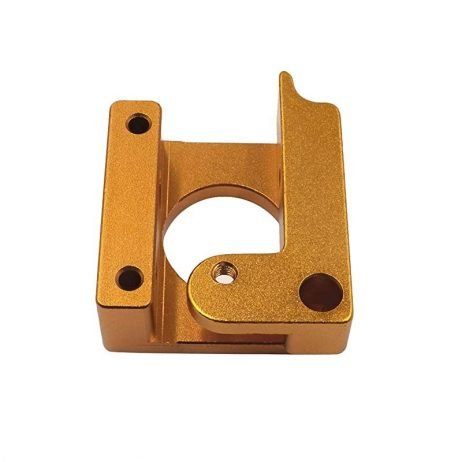 Left Side MK8 extruder Aluminum 3D Printer Block