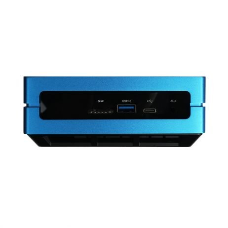 Odyssey Blue J4105 Windows 10 Mini PC with 128GB external SSD