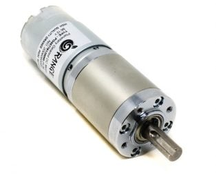 Orange Planetary Gear DC Motor 12V 100 RPM 294.3 N-cm PGM45775-71.2K