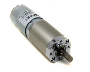 Orange Planetary Gear DC Motor 12V 18 RPM 882.9 N-cm PGM45775-264K