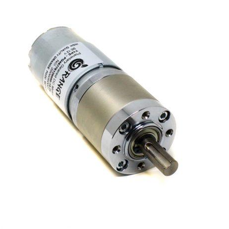 Orange Planetary Gear DC Motor 12V 370 RPM 100 N-cm PGM45775-19.2K
