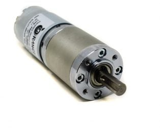 Orange Planetary Gear DC Motor 12V 50 RPM 392.4 N-cm PGM45775-99.5K