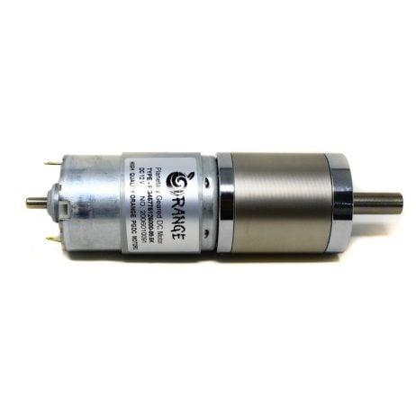 Orange Planetary Gear DC Motor 12V 50 RPM 392.4 N-cm PGM45775-99.5K