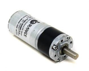Orange Planetary Gear DC Motor 24V 270 RPM 98.1 N-cm PG36BL36-26.9K
