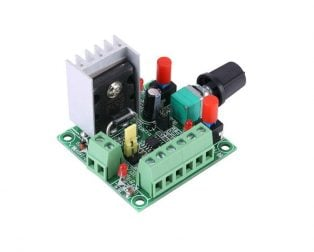 PWM Generator Module for Stepper Motor Driver with Forward and Reverse Function