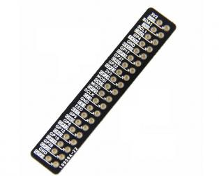 Raspberry Pi 3B+ GPIO reference Board