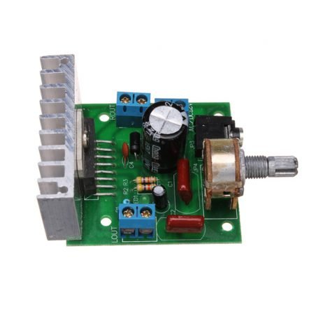 TDA7297 12V Stereo Noiseless Audio Power Amplifier Module with 2 x 15W Output