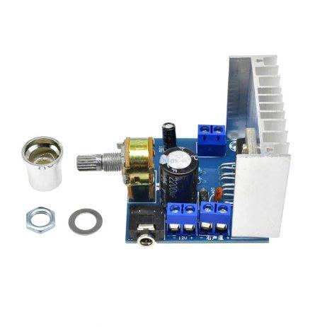 TDA7377 DC 12V 35W Dual Channel Noiseless High Power Amplifier Board