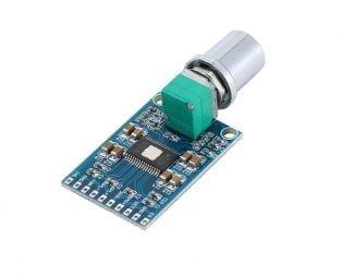 TPA3116D2 DC 12V-24V 2x50W Dual Channel Mini Digital Amplifier D Class 50W+50W
