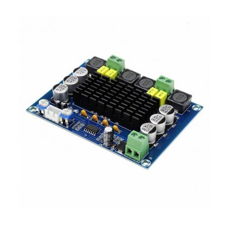 TPA3116D2 XH-M543 120W Dual Channel High Power Digital Power Amplifier Board