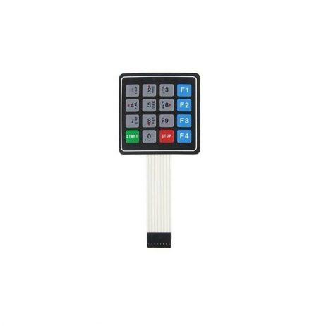 Universal 4x4 16 Key Matrix Membrane Switch Keypad Keyboard