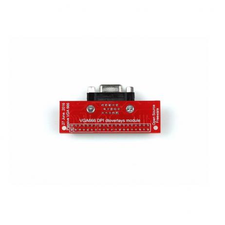 VGA666 RPI Dtoverlays Module