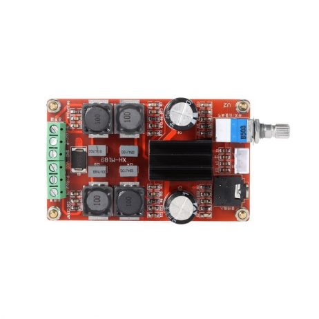 XH-M189 250W High-end Digital Amplifier Board DC24V TPA3116D2 Dual-channel Stereo