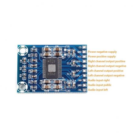 XH-M562 TPA3116D2 50W+50W Dual Channel Mini Digital Amplifier Class D Amplifier