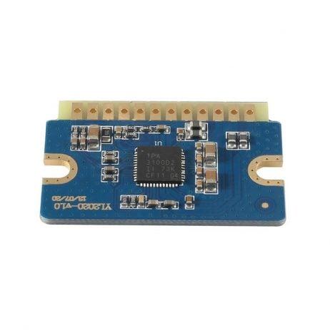YL2020 20W+20W D Class 12V-24V Mini Digital Power Amplifier Module