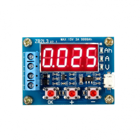 ZB2L3 18650 Li-ion Lithium Battery Capacity Tester