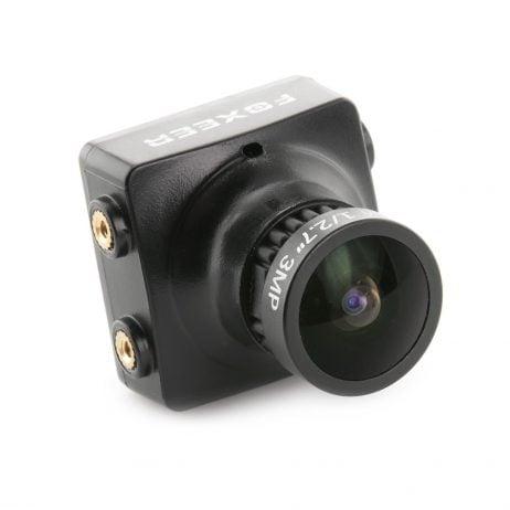 Foxeer HS1190 Arrow 2.8mm 600TVL CCD OSD NTSC/PAL IR Block/IR Sensitive FPV Camera w/ Bracket Black PAL