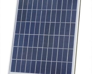 18V 20W 36-Cell Solar Panel (54 x 46 cm)