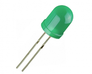 10 mm DIP Led Green