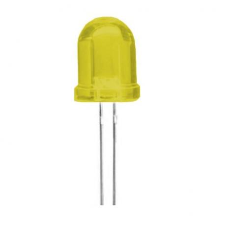 10 mm DIP Led Yellow