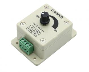 12V-24V 8A Adjustable Dimmer Switche For Single LED Strip