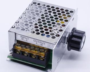 4000W High-Power Thyristor Electronic Regulator, Dimming Speed Regulation, with Shell