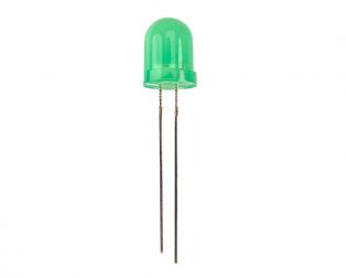 8mm DIP Led Green