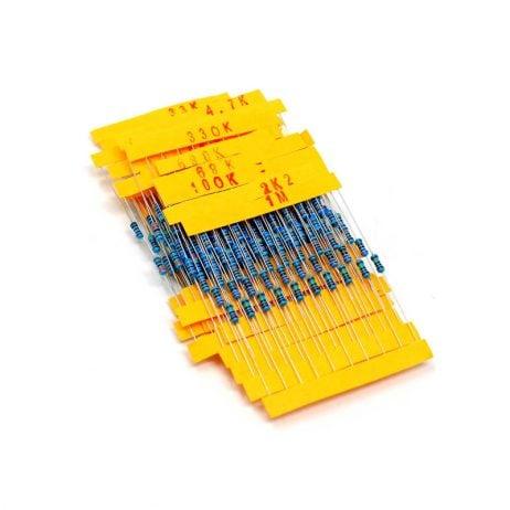 Assorted Resistor Kit-250 Pcs.