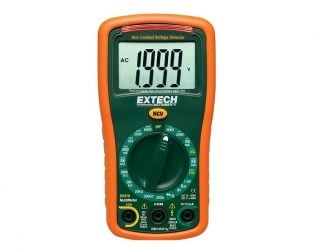 Extech EX310 9 Function Mini MultiMeter + Non-Contact Voltage Detector