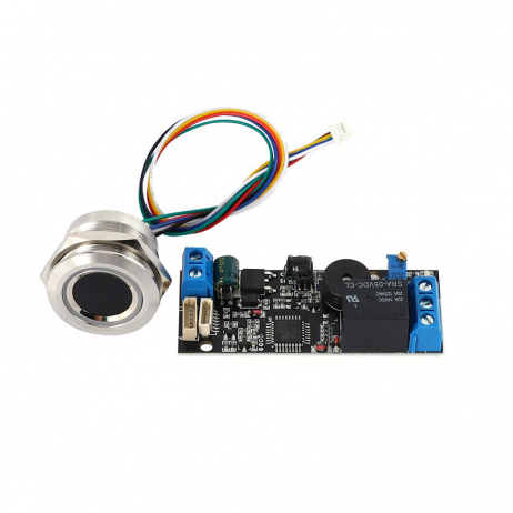 Grow K202 + R503 DC12V Low Power Consumption Ring Fingerprint Access Control Board