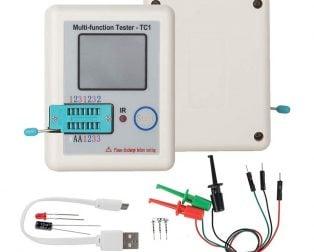 LCR-TC1 Full-Color Multifunction Transistor Tester