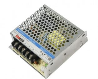 LM75-20B24 Mornsun SMPS - 24V 3.2A - 76.8W ACDC Enclosed Switching Single Output Power Supply