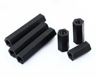 M3 Female to Female Nylon Hex Spacer