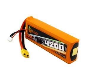 ORANGE 4200mAh 3S 35C (11.1 v) Lithium Polymer Battery Pack