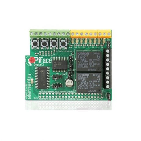 PiFace Digital 2 IO Expansion Board for Raspberry Pi