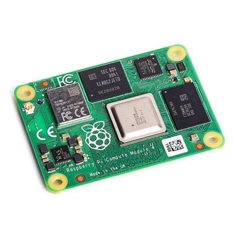 Raspberry Pi Compute Module 4 with 4GB RAM, 32GB eMMC, (Wireless)