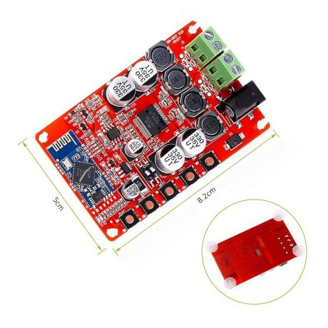 TDA7492P 50W Wireless Digital Audio Receiver Amplifier Board